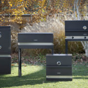 FOGHER THE MASTERCHEF BARBECUE A GAS MINIMALI IN ACCIAIO INOX