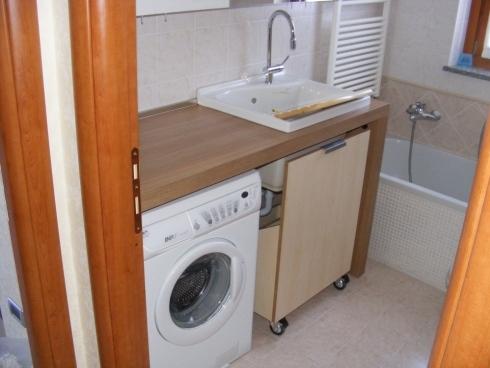 arredo lavanderia su misura monza e brianza , como , milano e ... - Arredo Bagno E Lavanderia