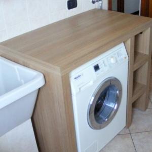 Arredo lavanderia su misura monza e brianza como - Mobili lavatrici ...