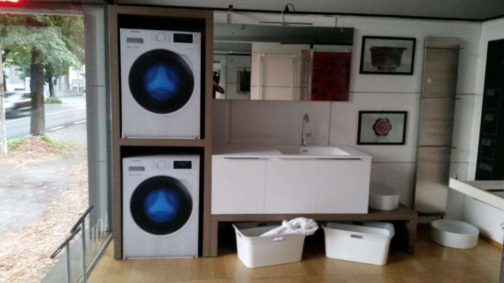 Centrino filet - Mobile per lavatrice e asciugatrice ...