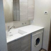 ARREDO lavanderia con lavatoio integrato AQUA SEREGNO monza e Brianza como milano