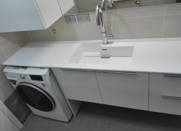 Arredo lavanderia su misura monza e brianza como milano e svizzera aqua - Arredo bagno provincia como ...