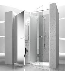 box doccia senza profili lavatrice e asciugatrice a scomparsa